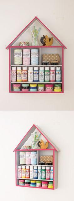 DIY Craft Storage organizer