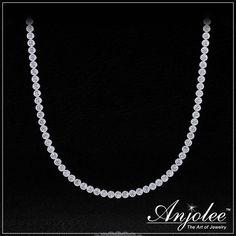 Circle of Love Diamond Strand Necklace!