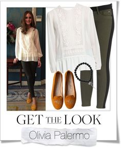 """""""Get The Look - Olivia Palermo"""" by renatademarchi ❤ liked on Polyvore"""
