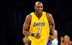 Lamar Odom had his biggest success with the Los Angeles Lakers. During this time, he met married reality star Khloe Kardashian and he wasn't accustomed to the fame it brought him. He struggled with addiction. In 2015, he was found unconscious in a brothel and was put on life support for days.
