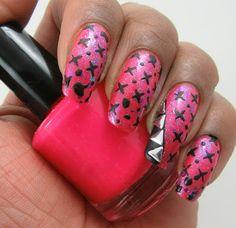 Paints And Polish: Biker Chick Manicure