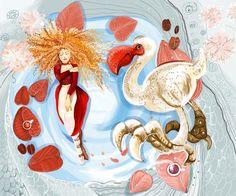 """Alice's Adventures in Wonderland"". Illustrator: Marina Rud'ko. Editor: Fominichev Anton Publisher: Phoenix Premier , 2013"