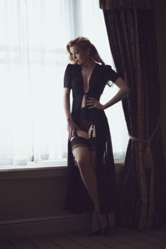 black lingerie :: #boudoir #photography