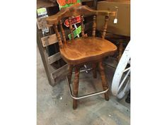 Used captain style bar stools for sale
