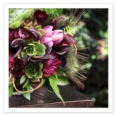 Succulent arrangement  9. Floral arrangement  #modcloth #wedding