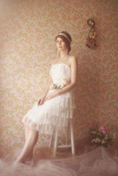 Robe de Mariée Elsa Gary, modèle Charleston, disponible en boutique ...