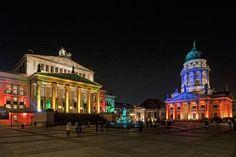 """Gendarmenmarkt Berlin - See Alternative Photos by """"Berlin Festival of Lights"""" - © Unterwegs in Berlin"""