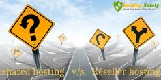 If you are looking web hosting plan under tight budget, a good web hosting company will offer you two web hosting options. These two are shared hosting and reseller hosting. In fact, shared web hosting services is one of the most popular low cost web hosting options a client can avail, while reseller web hosting options are also available on card. Let's check the difference between the shared hosting and reseller hosting.