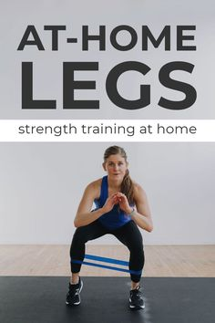 If leg day is your favorite day of the week, you're going to LOVE these 5 leg workouts at home! Ranging from beginner + pregnancy-friendly low impact leg workouts, to advanced 45-Minute tests of strength and endurance -- there's a leg workout for everyone! Each video includes a full-length follow-along video on Youtube! Best Leg Workout, Leg Workout At Home, Leg Workouts, At Home Workouts, Exercises, Squats And Lunges, Plyometrics, Legs Day, Strength Training