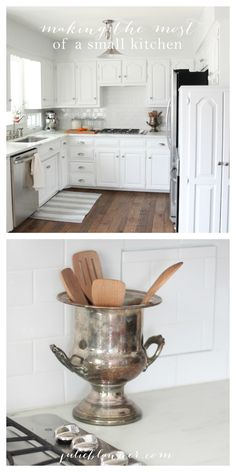 The best kitchen organization tips - maximize your kitchen with these space saving & creative ideas!
