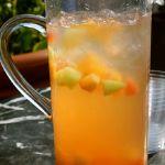 Cantaloupe Sangria recipe