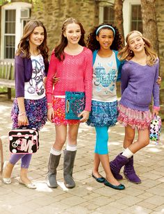 Im pinning this to enter the Justice Back-to-School Sweepstakes - click the pin to enter too! [Promotional Pin] - May 12 2019 at Cute Girl Outfits, Preppy Outfits, Kids Outfits, School Outfits, Unique Outfits, Tween Fashion, Fashion Outfits, Fashion Clothes, Fashion Fashion