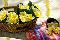 Shower the newlyweds with fragrant frangipani blossoms   Four Seasons Resort Bali at Jimbaran Bay   Bali, Indonesia