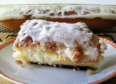 Cinnamon Roll Cake - Cinnamon, sugar, and cake.  Do I really need to say any more?