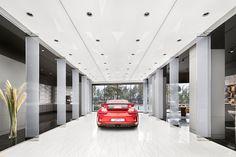 Showroom concept and roll-out Beirut, Porsche, Consumer Behaviour, Retail Concepts, Interiordesign, Retail Design, Studio, F1, Interior Architecture