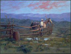 Western art Cowboy History, Creation Photo, Les Gifs, West Art, Cowboy Art, Animation, Le Far West, Equine Art, Horse Art