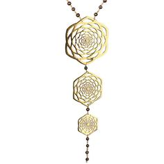 Lotus fractal rosary necklace ($289) ❤ liked on Polyvore featuring jewelry, necklaces, white pearl necklace, rose necklace, pearl rosary necklace, white necklace and pearl jewellery