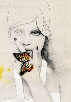 darksilenceinsuburbia: Elisa Mazzone. Madame Butterfly. http://www.elisamazzone.com.au/