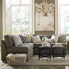 L-Shaped-Sectional in mushroom