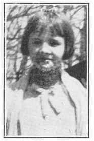Iola Irene Hart. Victim of Bath school massacre. 12 years.