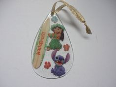 Disney Lilo & Stitch clear Christmas ornament  by ImAsMADaSaHaTTeR, $10.00