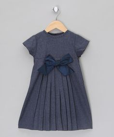 Take a look at this Wool Dress with Taffeta Ribbon - Infant, Toddler & Girls by Malvi on #zulily today!