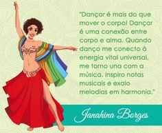Bem vinda Jana Borges de Pelotas - RS ao mundo das mascotes do Central Dança do Ventre! #centraldancadoventre #dancadoventre #bellydance #mascotedanca