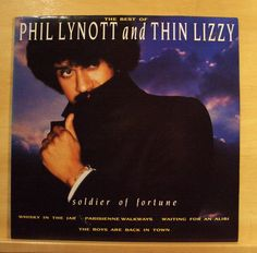 PHIL LYNOTT AND THIN LIZZY - Best of - Vinyl LP Whisky in the Jar Jailbreak RARE