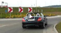 Condutor De Mercedes Insiste Em Não Sair Da Frente Impedindo a Passagem De Ambulância