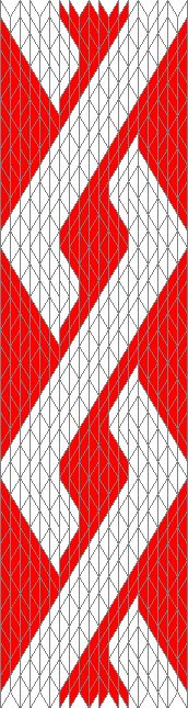 (Steinmaus) Homepage - Tablet weaving: Patterns from Egon Hansen (Elisenhof E-417)