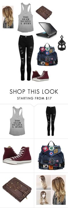"""""""Quick Creation 2"""" by bethm2109 on Polyvore featuring Dorothy Perkins, Converse, Dsquared2 and The Rogue + The Wolf"""