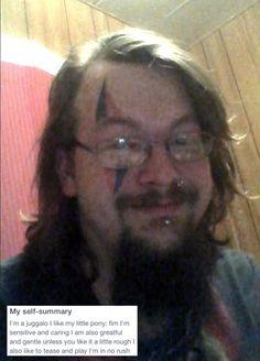 New Favorite Tumblr: Juggalos of OKCupid - Metal Injection