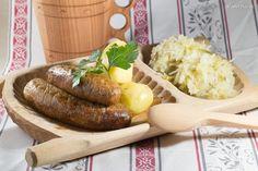 Baked Potato, Sausage, Potatoes, Meat, Baking, Ethnic Recipes, Food, Sausages, Potato