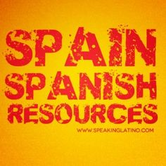 Learn Iberian Spanish Slang Resources   A list of articles, websites and other resources you may use as a reference to learn Iberian and Spain Spanish as well as Spanish slang. #Spain #Spanish