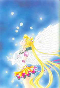 "Eternal Sailor Moon (Usagi Tsukino) from ""Sailor Moon"" series by manga artist Naoko Takeuchi."