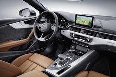 planche de bord nouvelle Audi A5 sportback 2016 Mondial de Paris