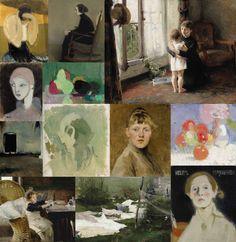 ヘレン・シャルフベック −魂のまなざし フィンランドを生きた女性画家の軌跡 |2015年7月26日(日)まで東京藝術大学大学美術館にて開催中。