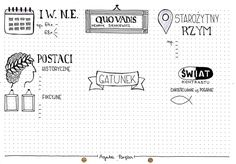 Małgorzata Łopatka's media content and analytics Eighth Grade, School Notes, Handwriting, Back To School, Bullet Journal, Education, Literatura, School Grades, Calligraphy