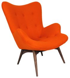 Mid-Century Modern Arm Chairs - contemporary - armchairs - columbus - ControlBrandDirect.com