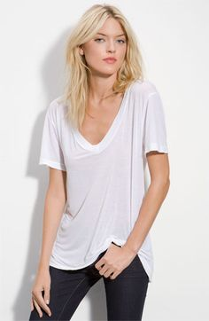 in search for the perfect white tee