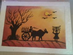 latest scenery rangoli 2016