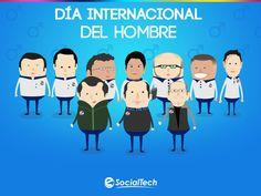 Imagen para nuestras redes sociales para celebrar el Día Internacional del Hombre.