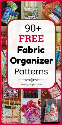 Terrific Cost-Free sewing tutorials free Style Fabric Organizer DIY: free fabric organizer sewing patterns, diy projects, and tutorials. Easy Sewing Projects, Sewing Projects For Beginners, Sewing Hacks, Sewing Tutorials, Sewing Crafts, Sewing Tips, Sewing Ideas, Scrap Fabric Projects, Dog Crafts