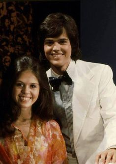 Young Donny and Marie
