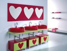 BAIRES Deco & Design ... Diseño de Interiores, Arquitectura y Decoración en un solo Sitio!: Agatha Ruiz de la Prada: Encantadores muebles para el baño del peque
