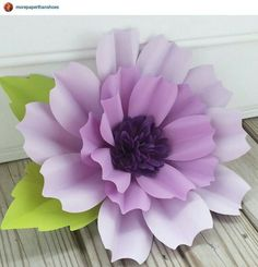 Large paper flower perfect for summer wedding decorations