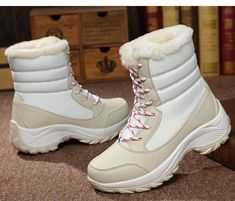 Women Winter Boots New Fashion With Warm Fur Platform Snow Boots – Agodeal Winter Fashion Boots, Winter Snow Boots, Winter Shoes, Womens Fashion Casual Summer, Womens Fashion For Work, New Fashion, Snowboard, Nylons, Fur Heels