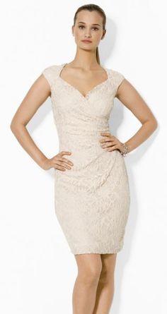 Lauren Ralph Lauren Sequined-Lace Dress