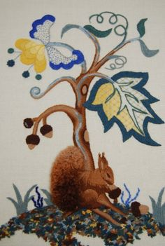 Margaret Pengelly - Certificate Royal school of needlework.  Follow the pin to the RSN site for all forms of needlework