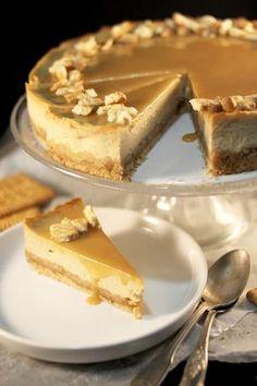 Chloé Délice: Cheesecake aux petits-beurre & caramel beurre salé